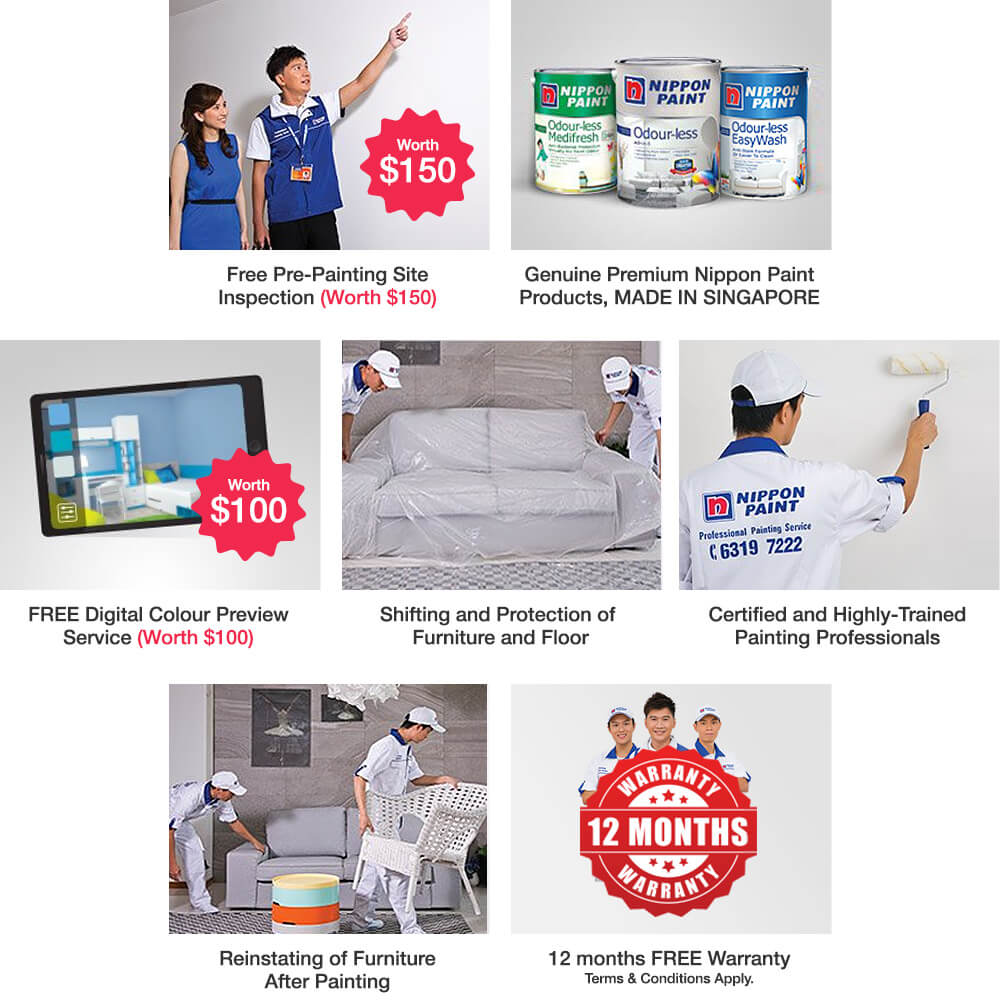 Professional Painting Services - Paint & Save more than $990