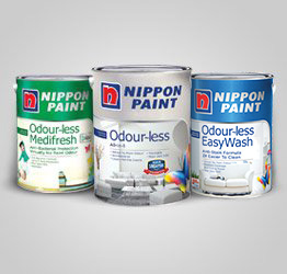 genuine premium nippon paint products made in singapore. Black Bedroom Furniture Sets. Home Design Ideas