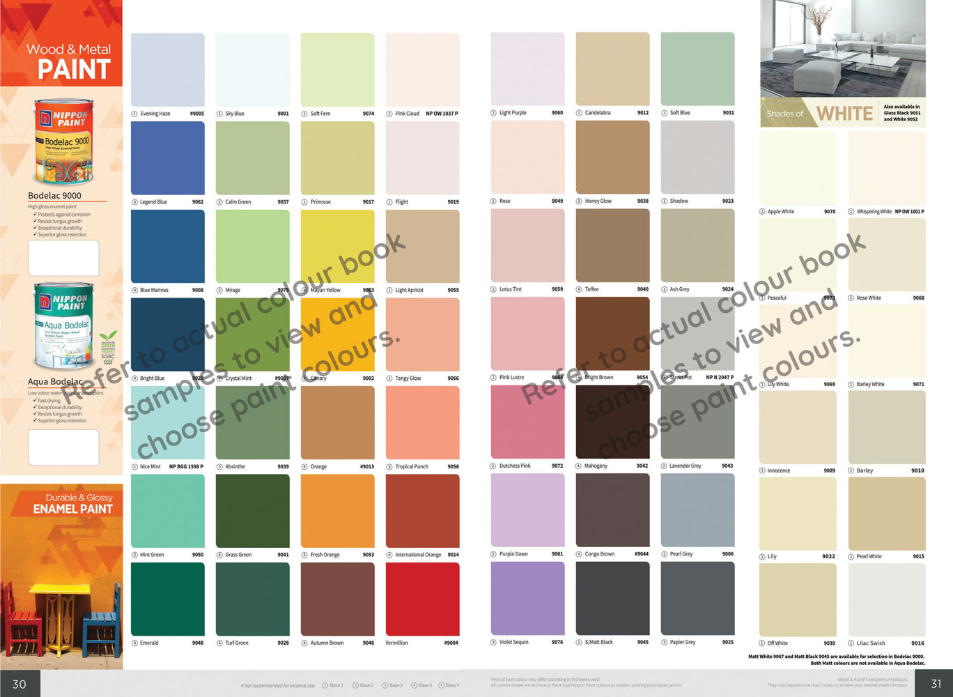 Products Nippon Paint Singapore