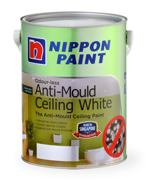 Odour-less Anti-Mould Ceiling White Paint Can