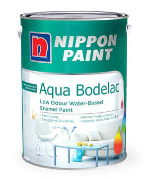 Aqua Bodelac Paint Can
