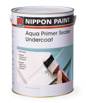 Aqua Primer Sealer Undercoat Paint Can