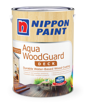 Aqua Woodguard Paint Can