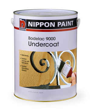 Bodelac 9000 Undercoat Paint Can