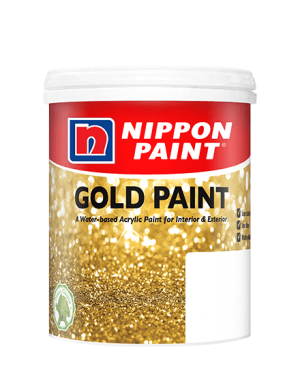 Gold Paint Paint Can