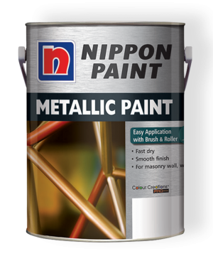 Metallic Paint Paint Can