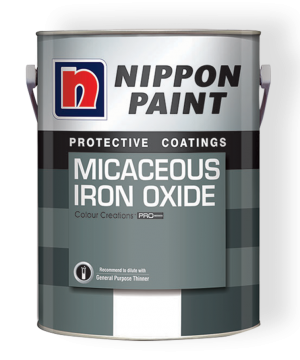 Micaceous Iron Oxide Paint Can