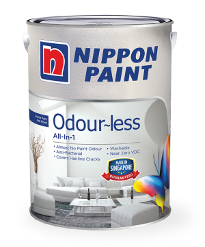 Odour-less All-in-1 Paint Can