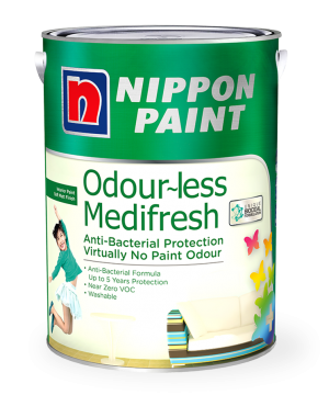 Odour-less Medifresh Paint Can