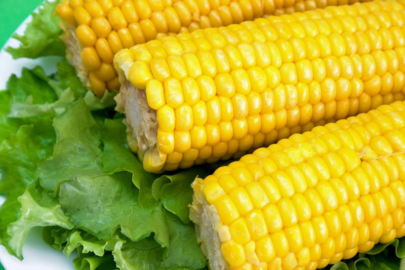 Fresh corns for salad!