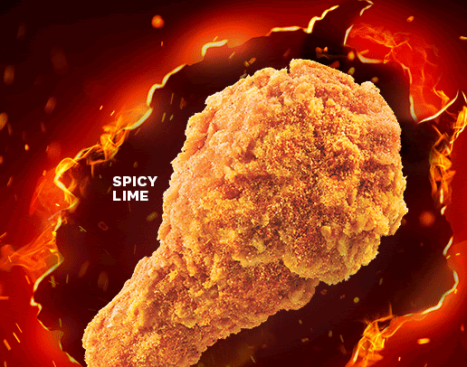 KFC Spicy Lime Drumlets