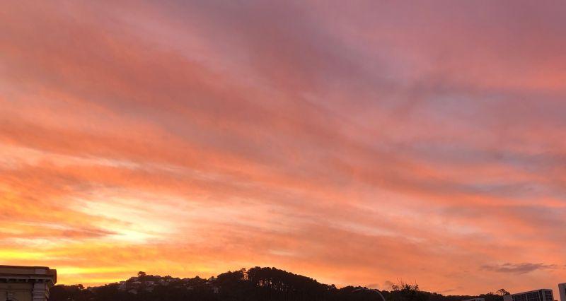Sunset purplosj