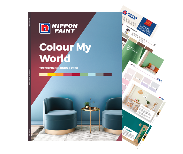 COLOUR MY WORLD 2020: Check out the latest paint colour trends of 2020!