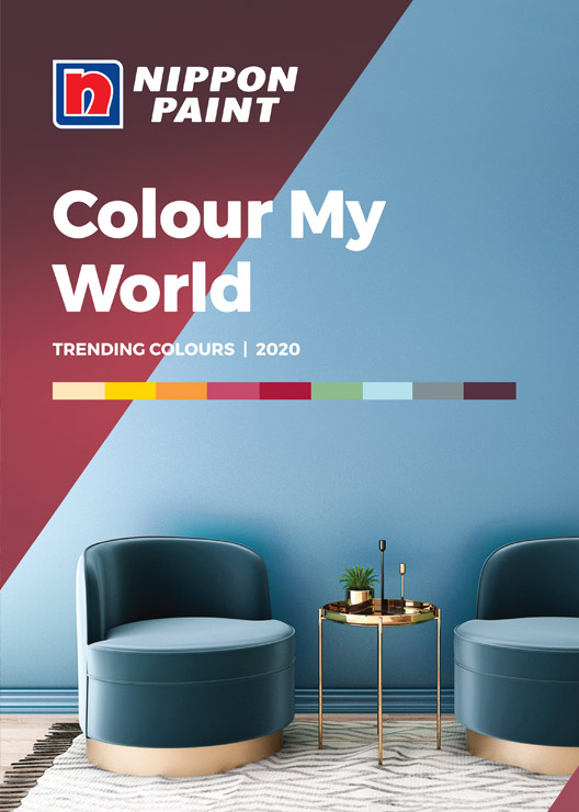 Colour My World 2020 Catalogue Nippon Paint Singapore