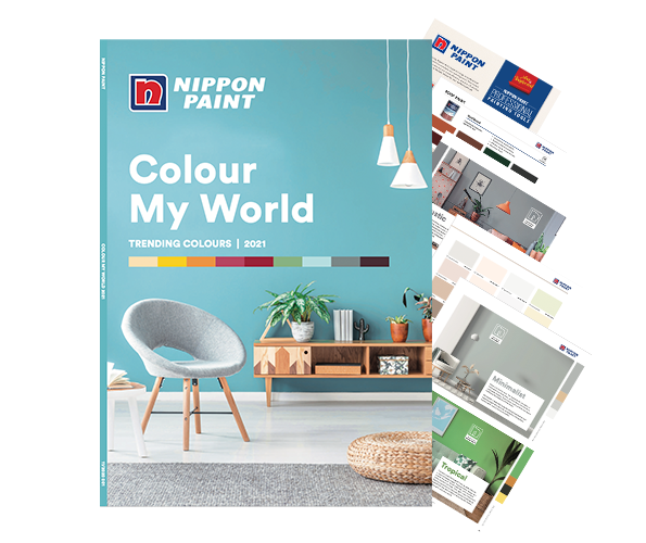 COLOUR MY WORLD 2021: Check out the latest paint colour trends of 2021!
