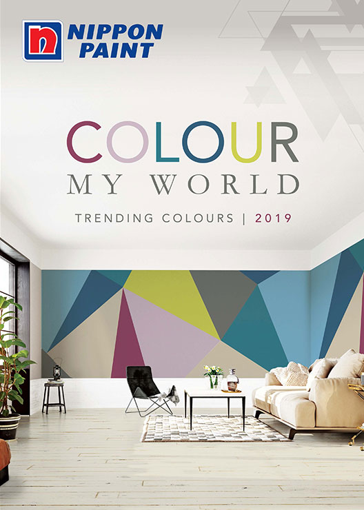 Colour My World 2019 Catalogue Nippon Paint Singapore