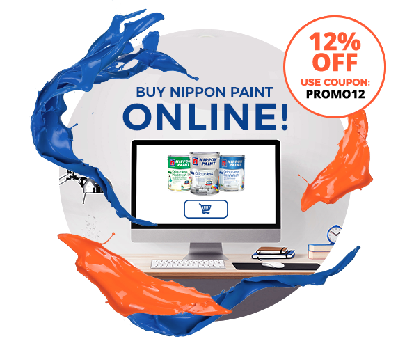Buy Official Nippon Paint Products Online & Delivered Straight to Your Doorstep