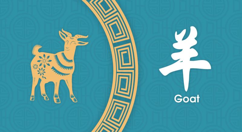 羊 Goat - Nippon Paint Colours of Fortune 2020