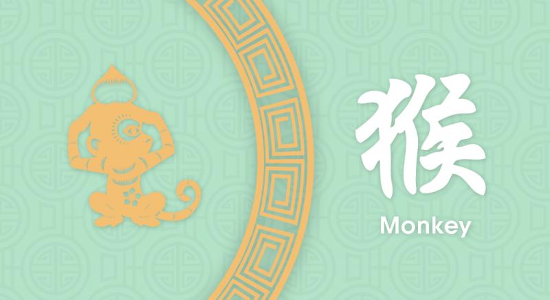 猴 Monkey- Nippon Paint Colours of Fortune 2020