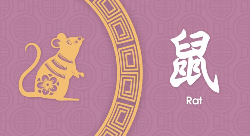 鼠 Rat- Nippon Paint Colours of Fortune 2020