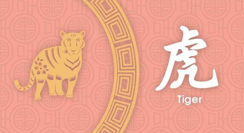 虎 Tiger- Nippon Paint Colours of Fortune 2020