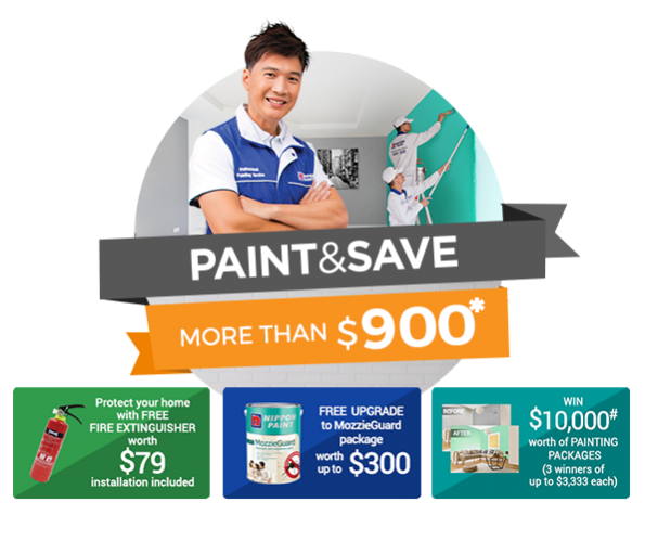 Paint & Save more than $900 and enjoy Savings up to $350!