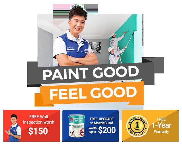 Paint Good // Feel Good: Enjoy More than $800 Savings!