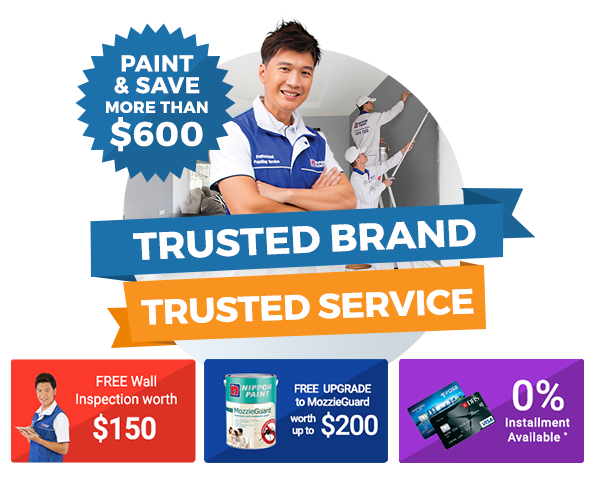 Trusted Brand, Trusted Service with Nippon Paint