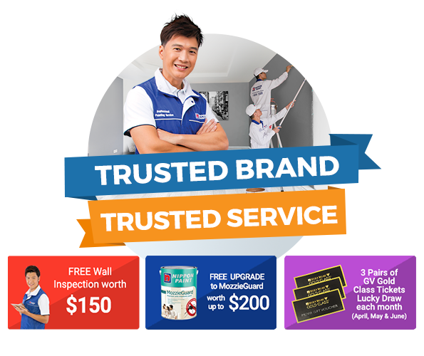 Trusted Brand, Trusted Service (Paint & Save more than $800)