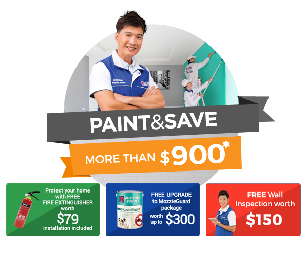 Paint & Save MORE than $900 (up to $600 off usual prices)