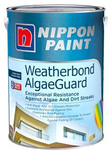 Nippon Paint Weatherbond-Algaeguard