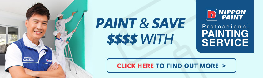 Paint & Save $$$$ with Nippon Paint Professional Painting Service