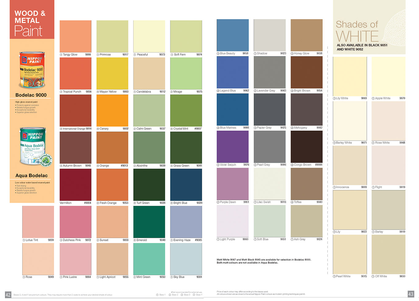 Nippon paints color card paint color ideas for Frazee paint swatches