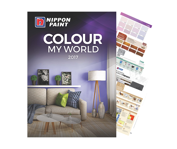 COLOUR MY WORLD 2017: Check out the latest paint colour trends of 2017!