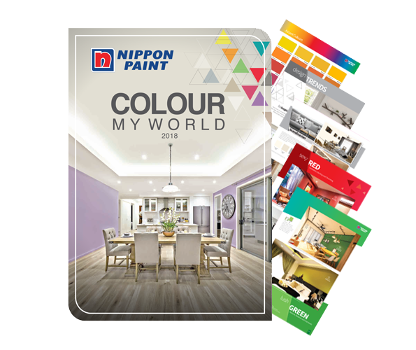 COLOUR MY WORLD 2018: Check out the latest paint colour trends of 2018!