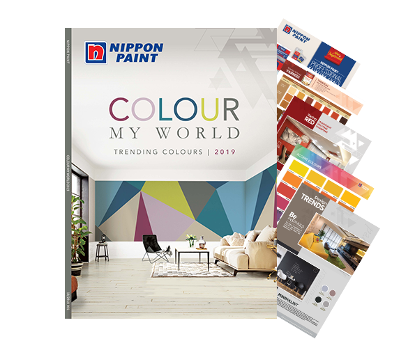 COLOUR MY WORLD 2019: Check out the latest paint colour trends of 2019!