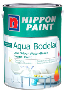 Wood and Metal Paints - Nippon Paint Aqua Bodelac