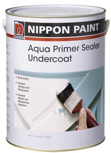 Primers, Sealers and Undercoats - Nippon Paint Aqua Primer Sealer Undercoat
