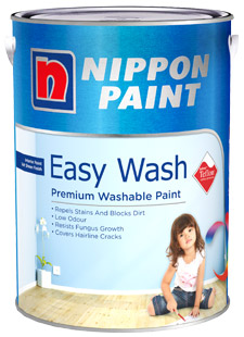 Interior Paints - Nippon Paint Easy Wash with Teflon