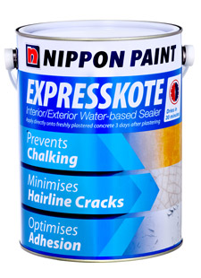 Primers, Sealers and Undercoats - Nippon Paint ExpressKote Water Based Sealer