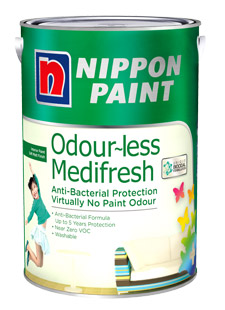 Nippon Paint Odour-less Medifresh