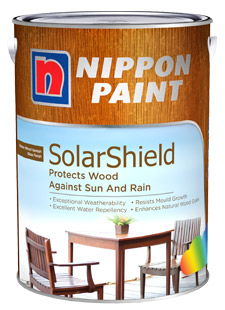 Nippon Paint Solarshield Exterior Varnish