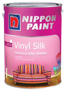 Interior Paints - Nippon Paint Vinyl-Silk