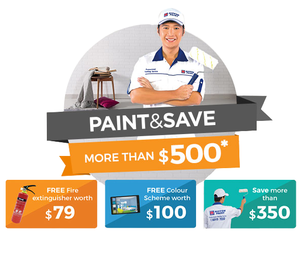Paint & Save more than $500 and enjoy Savings up to $350!