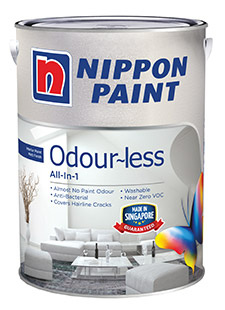 Interior Paints - Nippon Paint Odour-less all in 1