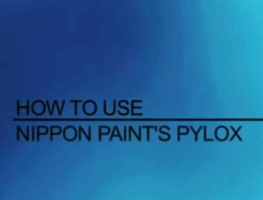 How to use Nippon Paint Pylox