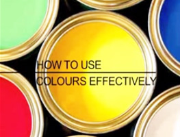 How To Use Colours Effectively