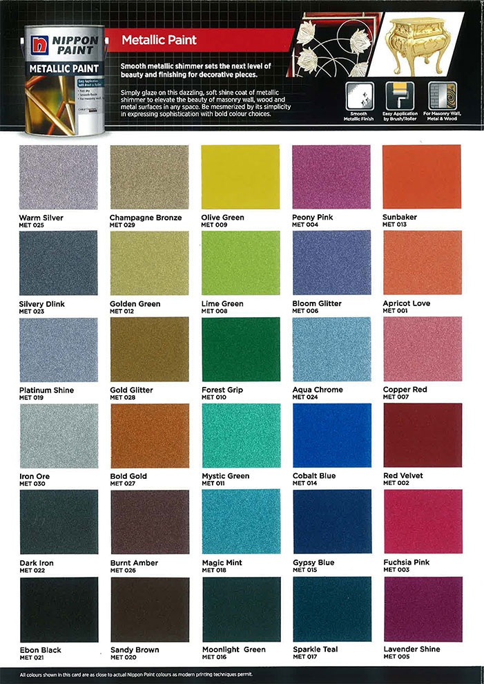 Nippon metallic paint nippon paint singapore - Nippon paint exterior collection ...