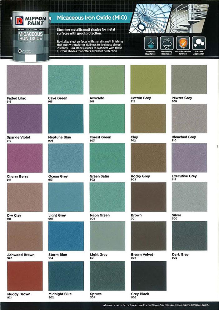Nippon Paint Colour Catalogue