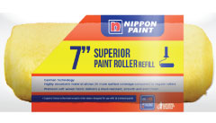 nippon paint 7 long hair roller sleeve yellow